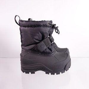 Northside Frosty Polar Snow Boots Black